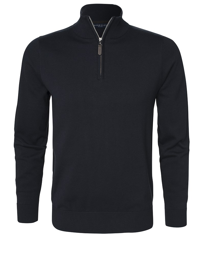 Sweatshirt Half Zip 1730 Navy
